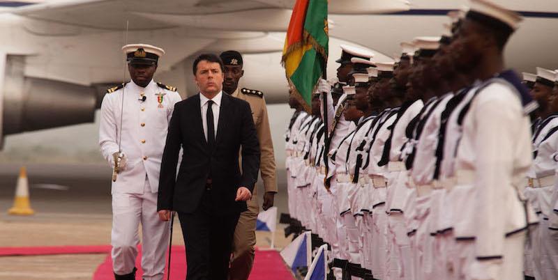 Renzi in Africa