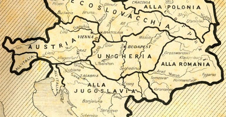 Le ceneri dell'Impero asburgico e la crisi dell'Europa passano attraverso il nazionalismo