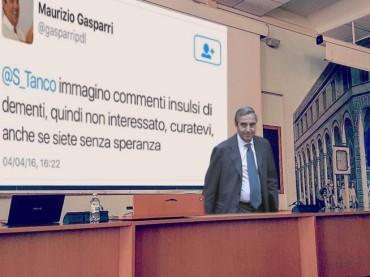 #Gasparrialezione, una questione di civiltà