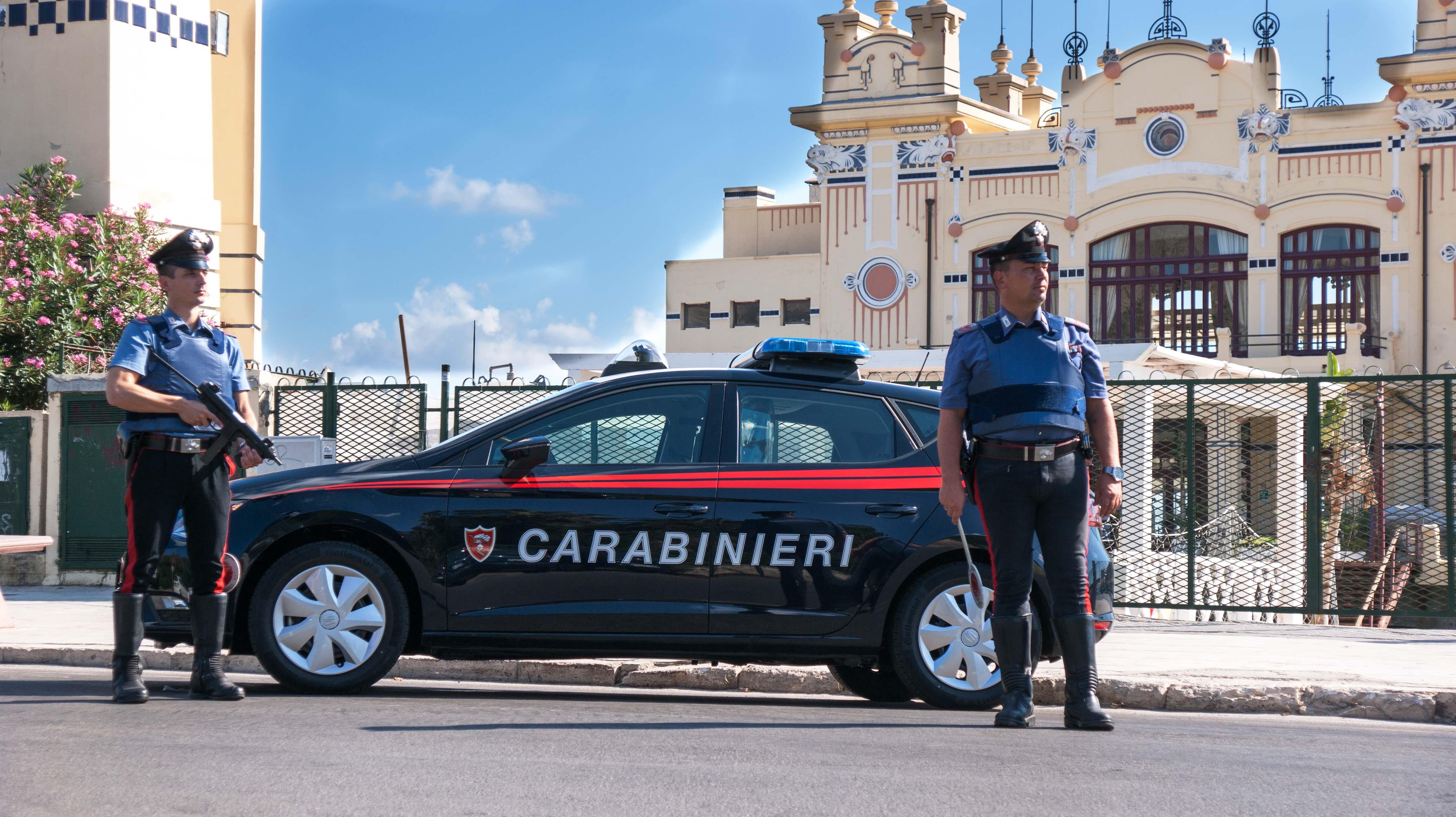 Indagini affidate ai carabinieri di Palermo