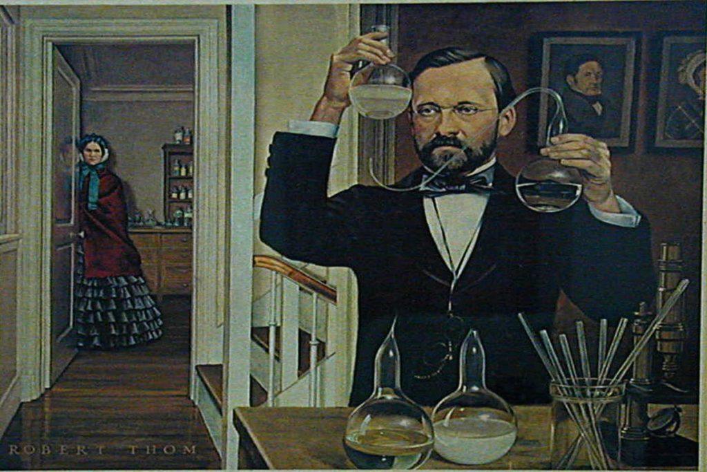Louis Pasteur all'opera