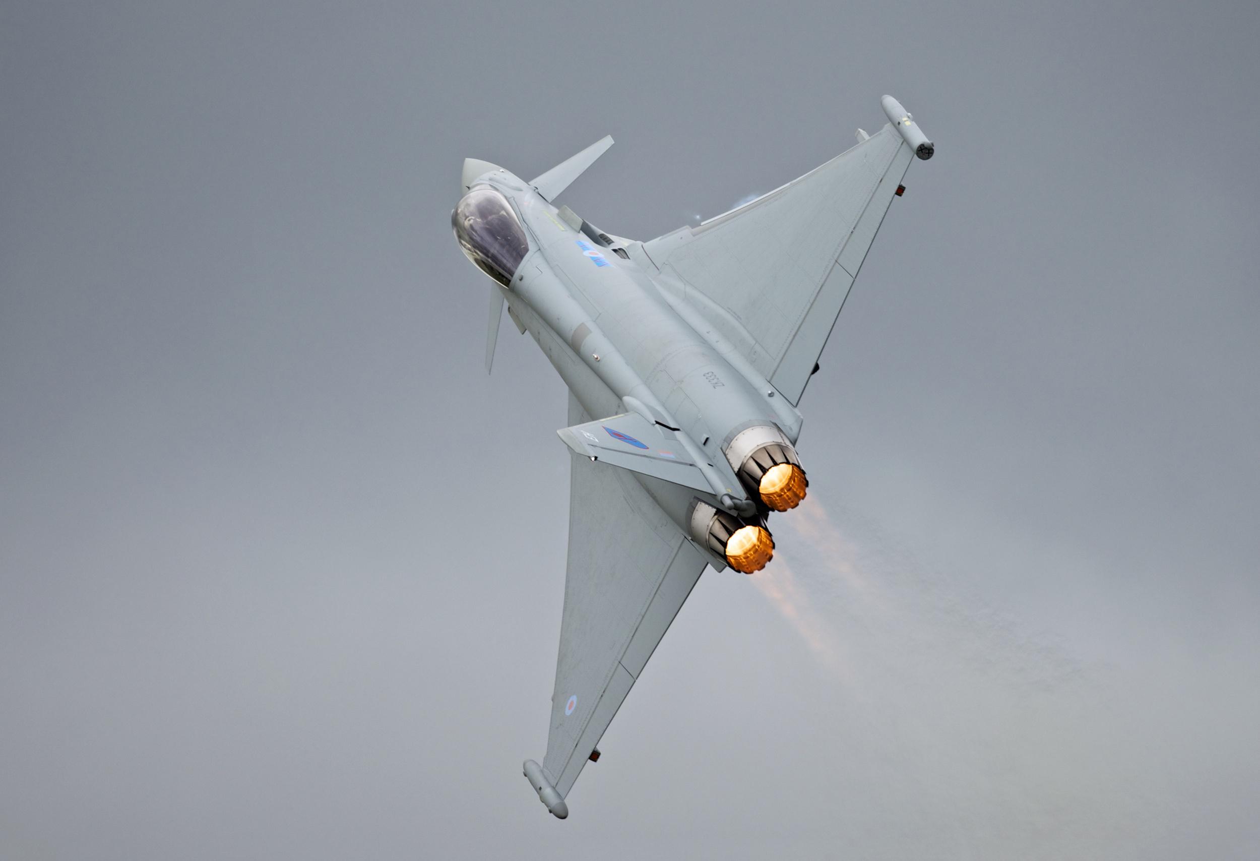 Esemplare di Eurofighter