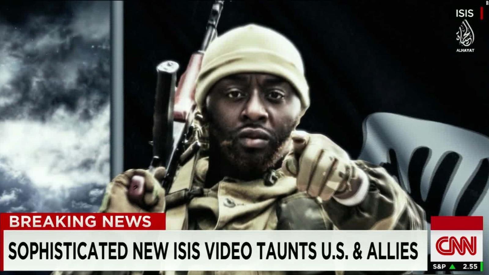 Un fotogramma di un video di propaganda di Daesh