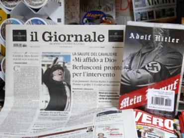 Il Giornale, il teorema di Santamaradona, il Mein Kampf e Matteo Renzi