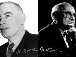 Friedman isn't dead, is a Keynesian now!
