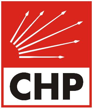 Simbolo del CHP: le sei frecce simboleggiano le sei dottrine cardine del partito.
