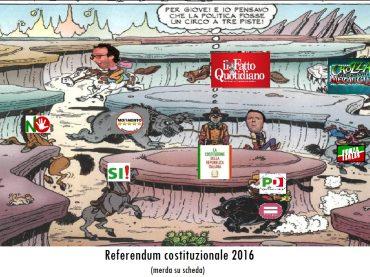 Cos'è il referendum costituzionale? Un circo a tre piste