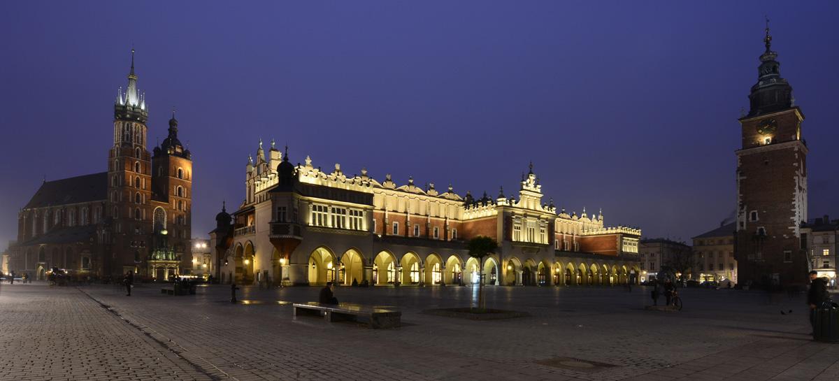 Rynek, piazza centrale della città