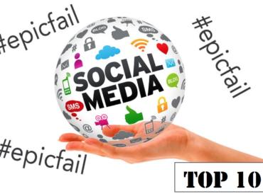 I 10 social media e communication epic fail del 2016