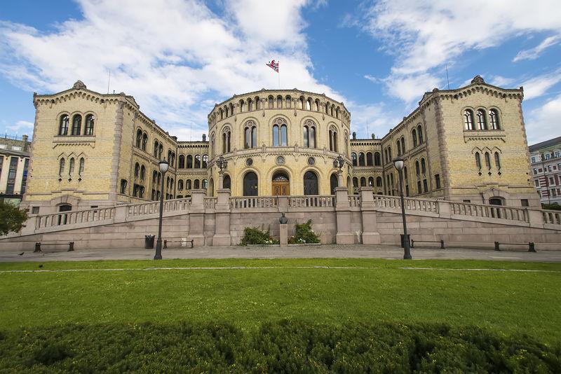 Stortinget, il Palazzo del Parlamento