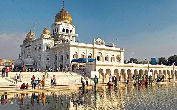 Il Tempio sikh.