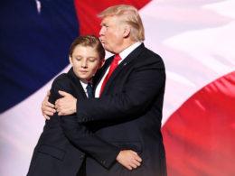 L'ironia su Barron Trump è tanto triste