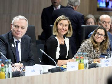 La politica estera e la formazione dei trattati internazionali dell'UE