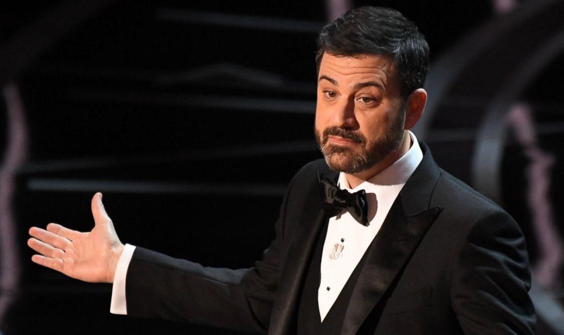 Jimmy Kimmel, conduttore leggermente spaesato