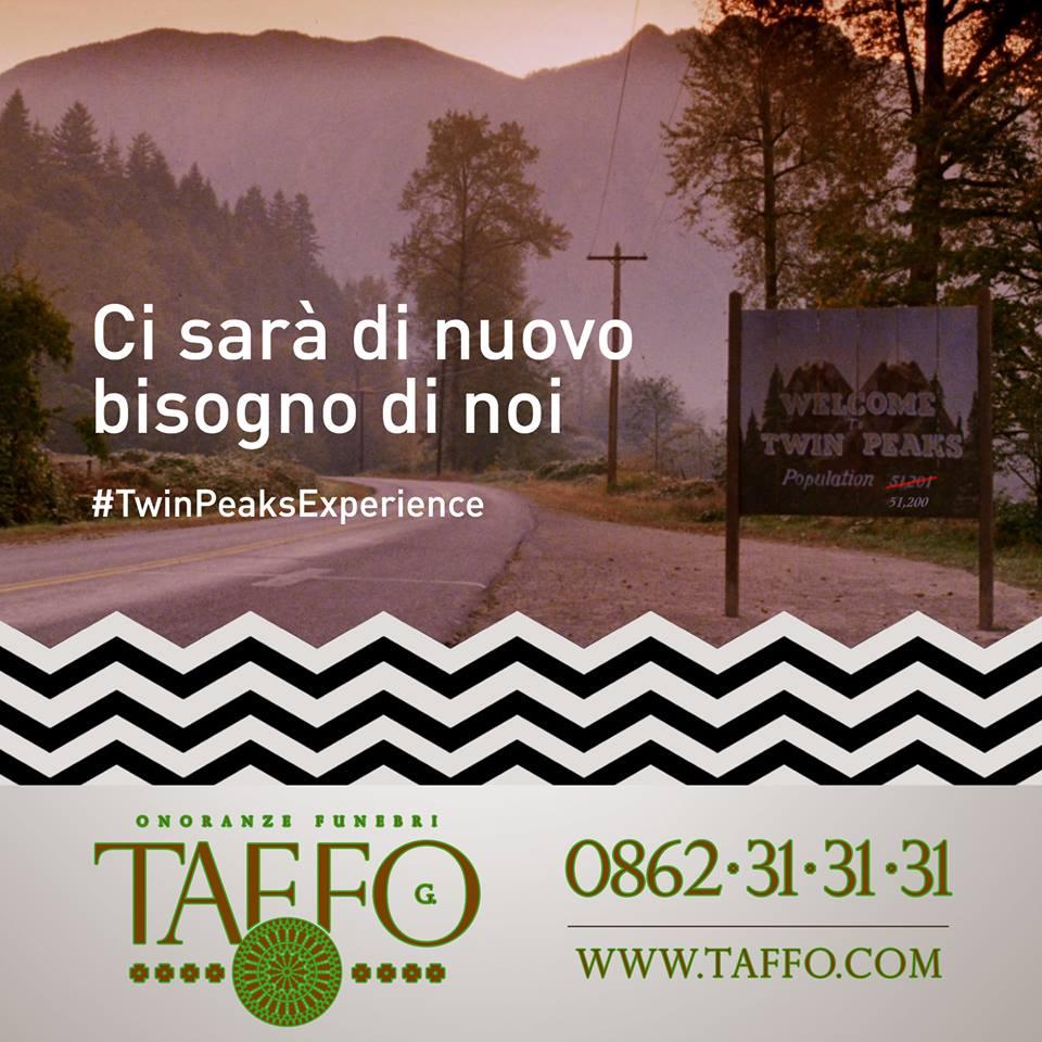 Taffo per la Twin Peaks Experience a Milano