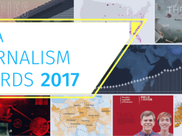#AgendaSetting: chi ha vinto i Data Journalism Awards?