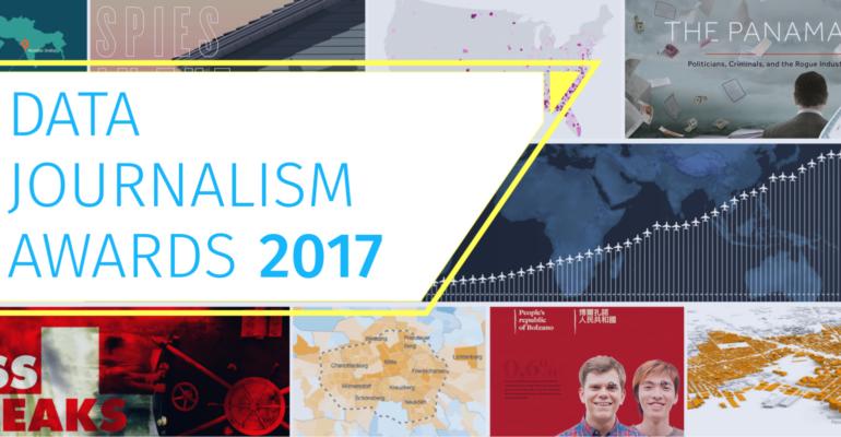 #AgendaSetting: chi ha vinto i Data Journalism Awards? GO