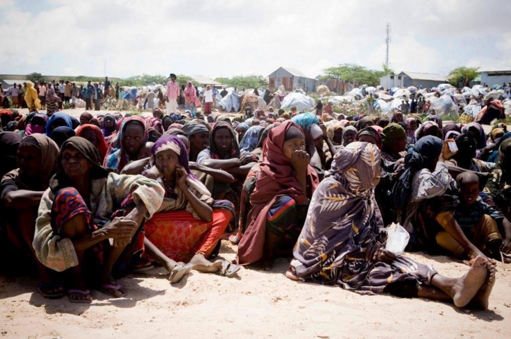 A causa della siccità, oltre 135mila somali hanno lasciato le proprie case per spostarsi all'interno del Paese. Nel 2011 la carestia uccise circa 250.000 persone, oltre la metà al di sotto dei 5 anni (Credits: UNHCR Italia - Agenzia ONU per i Rifugiati/ Facebook)