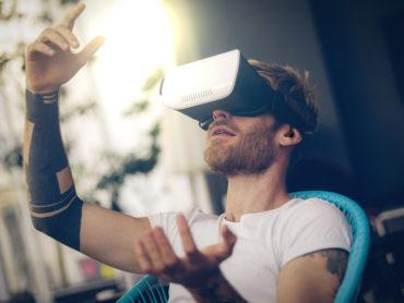 La realtà virtuale riduce il dolore