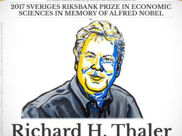 Nobel 2017: Richard Thaler, Nudge, Behavioural Economics