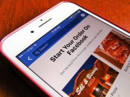 Order Food, il nuovo tool di casa Facebook