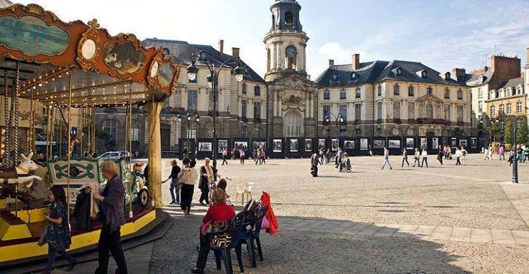 #IlGiroDelMondo: Rennes, Francia