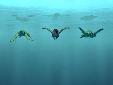 """Il mito universale de """"La tartaruga rossa"""""""