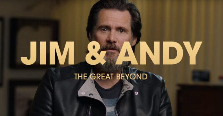 """""""Jim & Andy"""": un inedito Jim Carrey alle prese con il personaggio di Andy Kaufman in """"Man on the Moon"""""""
