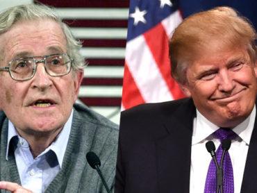 L'informazione post-moderna di Chomsky e Trump