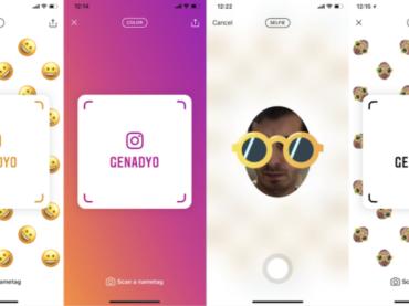 Instagram Nametag emula Snapchat QR code