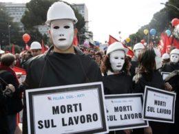 Storie come tante: morire di lavoro in Italia