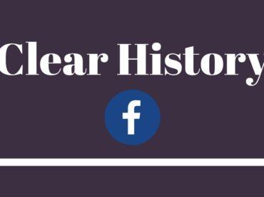 Cancellare la Cronologia su Facebook: arriva Clear History