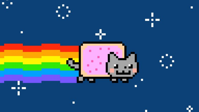 Nyan Cat, Monet e l'Arte Contemporanea